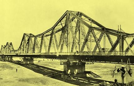 越南河内龙边桥