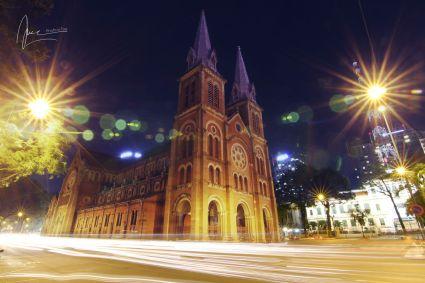 越南胡志明市圣母大教堂